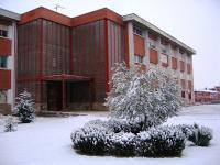 IES Juanelo Turriano bajo la nieve